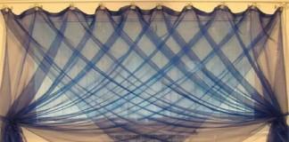 Стильные шторы своими руками