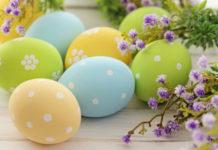 Идеи раскрашивания пасхальных яиц к празднику (видео)