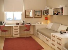 Интерьер детской комнаты для двоих