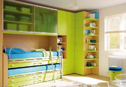 Оформление детской комнаты для двоих