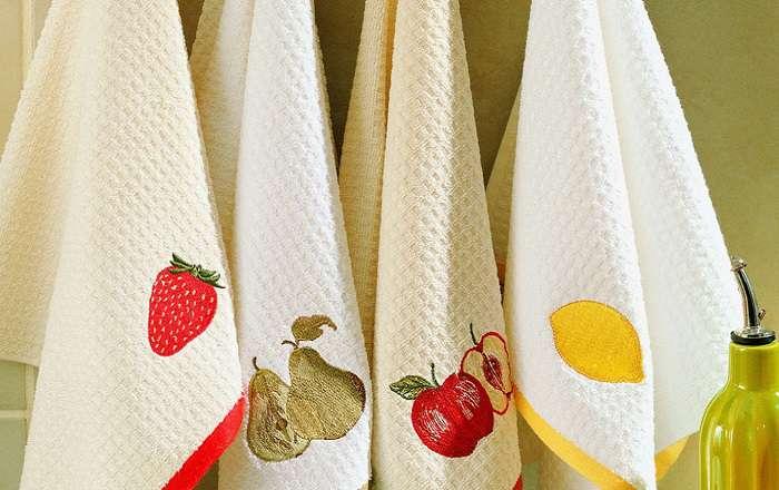Как отстирать кухонные