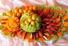 Как красиво нарезать фрукты