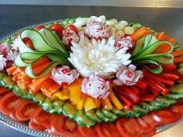 Как красиво нарезать овощи