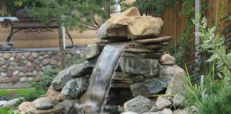 Как сделать фонтан для дачи своими руками
