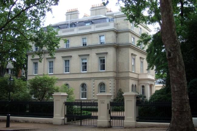 Spi0005942 . Sunday Telegraph. A GV of number 15a Kensington Palace Gardens, London. Friday 15th August 2008. (Credit Image: © Telegraph UK/ZUMA Press/Global Look Press)
