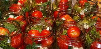 Самые лучшие маринованные помидоры.