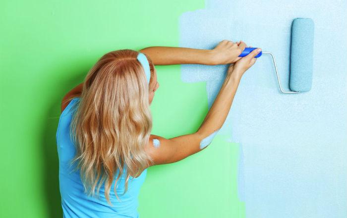 Какой краской покрасить стены в доме