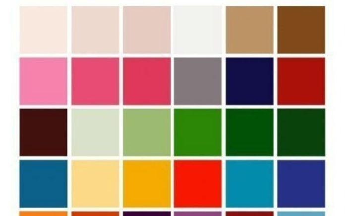 Сочетаем цвета правильно. 30 цветов от белого до чёрного