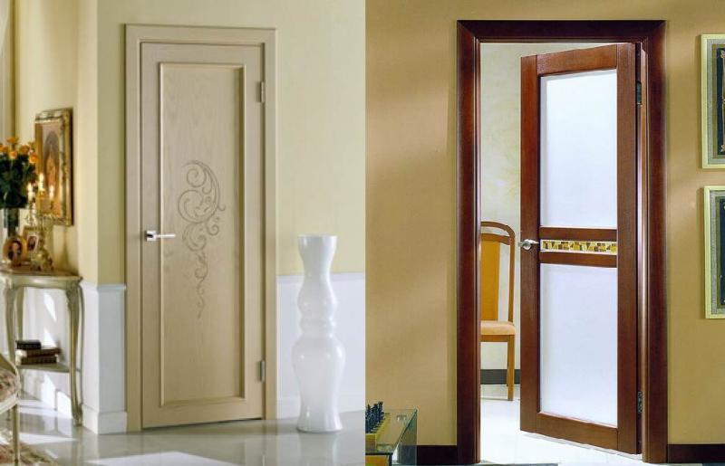 Красивые двери в оформлении помещения. Виды дверей