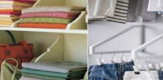 22 очумелых примера, как складывать вещи в шкафу...