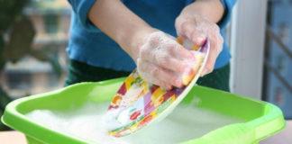 Домашняя универсальная паста для мытья посуды