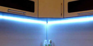 Подсветка для кухни: какую и как сделать своими руками