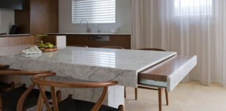 Как вам вариант дизайна гостиной, кухни и столовой?