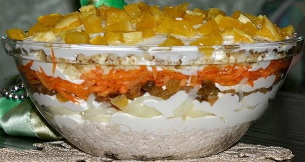 Вкусный салат «Французская любовница»