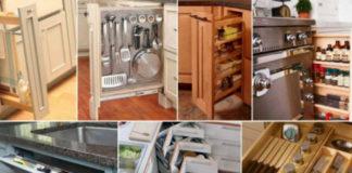 Оптимизировать пространство на кухне не так сложно, как может показаться на первый взгляд