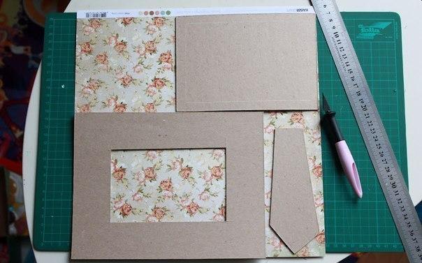 Как сделать фоторамку своими руками в домашних условиях из картона