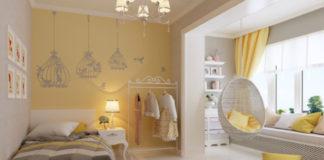 Дизайн интерьера для детской комнаты