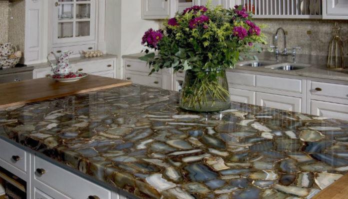 Каменные столешницы для кухни своими руками