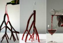 Красивые и неординарные графины для вина