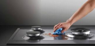 Советы по быстрой и легкой чистке плиты за 5 минут
