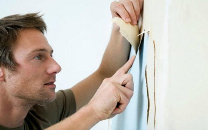 Как снять старые обои со стен при ремонте (видео)