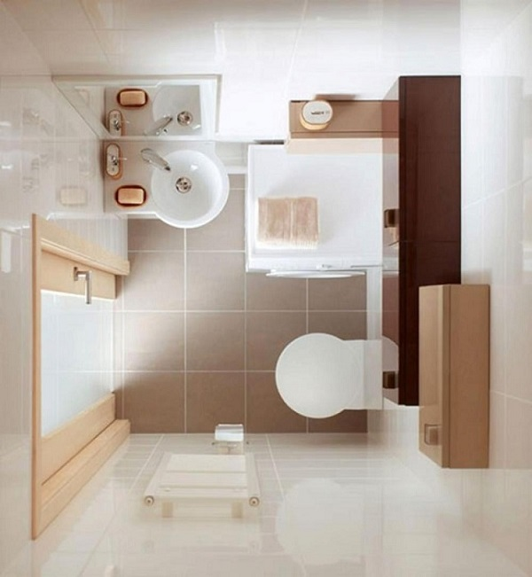 25 заповедей правильного оформления маленькой ванной комнаты