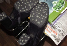 Антилед для обуви своими руками