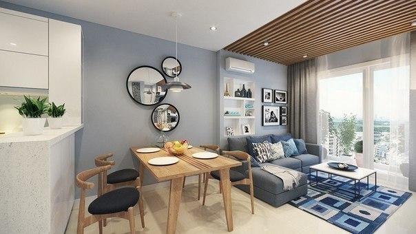 Дизайн маленькой уютной квартиры