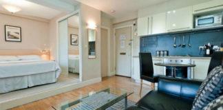 Интересная перепланировка однокомнатной квартиры 28 кв.м.