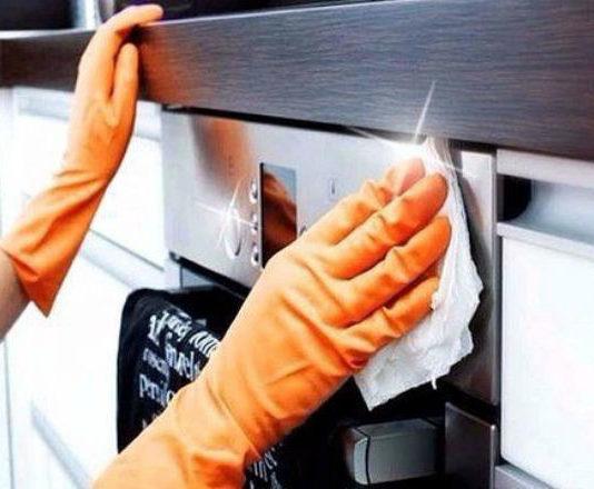 Как отмыть плиту быстро и легко за 5 минут!