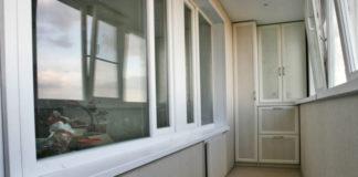 Интересный ремонт балкона