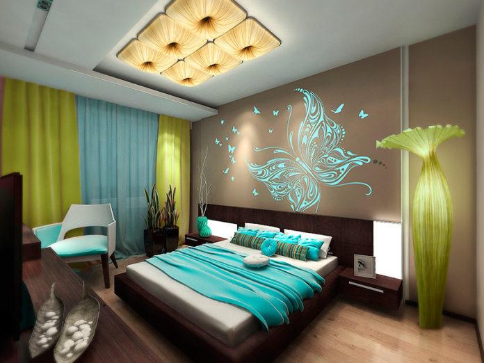 Оформления спальни дизайн