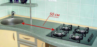 Почему нельзя располагать мойку рядом с плитой
