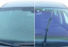 Выбрасывайте скребок для льда. После этого трюка лобовое стекло станет чистым за секунды!