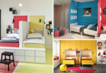 14 свежих идей для обустройства стильной детской комнаты для двух детей