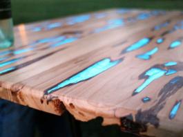 Мастер-класс по изготовлению светящегося стола