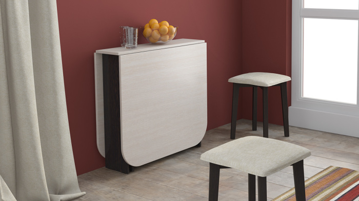 8 стильных столов, которые эффективно оптимизируют пространство маленькой кухни