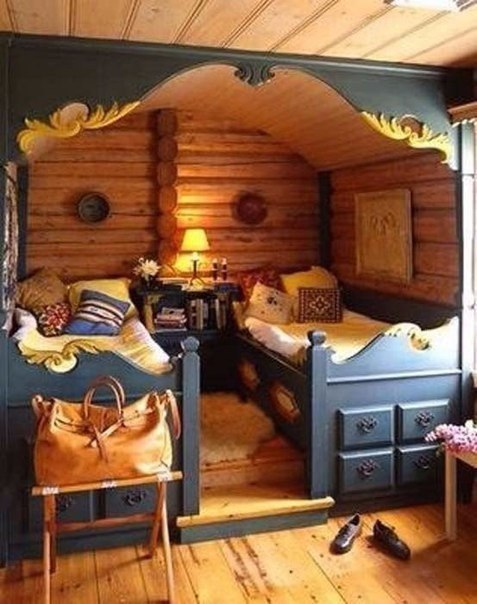 5 сказочных и уютных детских комнат