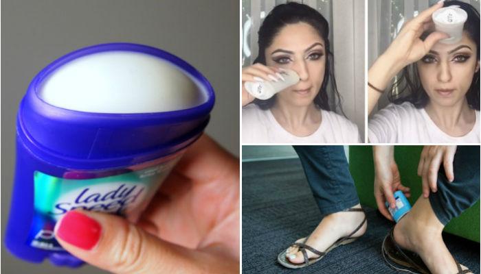 7 скрытых возможностей дезодоранта, которые сделают жизнь немного проще
