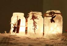 Делаем соленые подсвечники