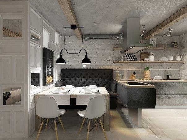 Дизайн квартиры (55 кв.м.)
