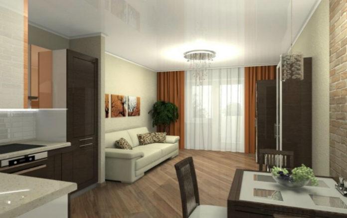 Дизайн для квартиры в 19 кв. м
