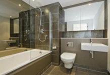 Из тесной ванной комнаты в образец стиля