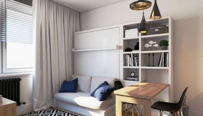 Интерьер для квартиры в 19 кв.м.