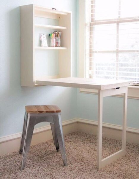 Маленькие столики для небольшой квартиры
