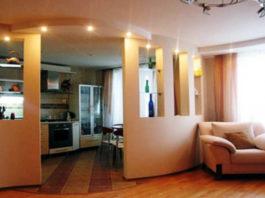 Перепланировка питерской однокомнатной квартиры