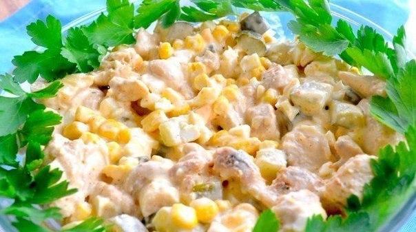 ТОП-5 салатов с грибами