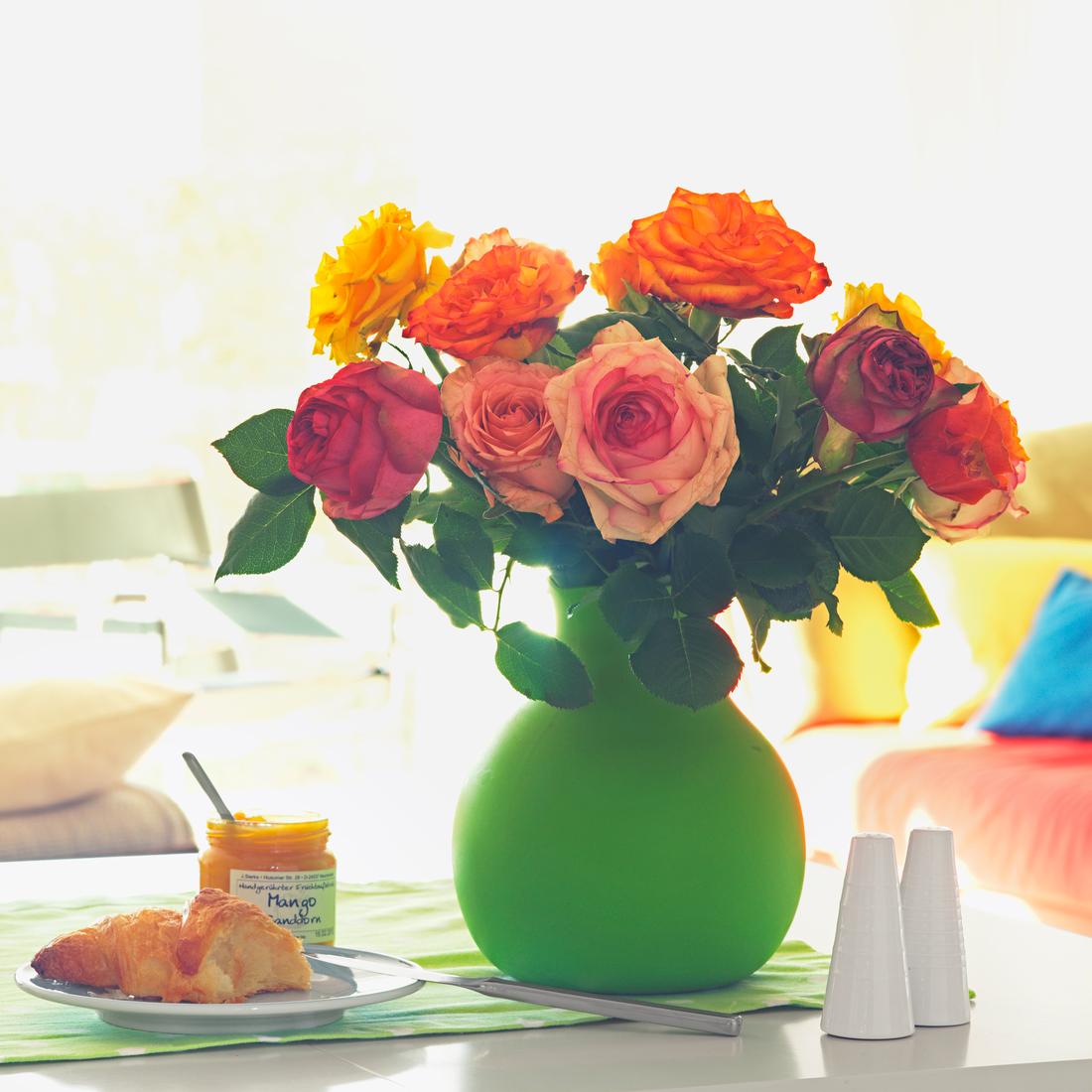 5 способов сохранить подаренные цветы свежими3