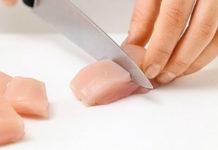 Как правильно нарезать куриное филе