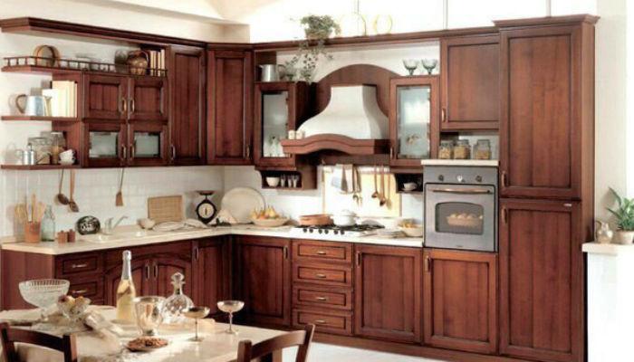 Как удалить жировой налет и грязь с деревянной кухни